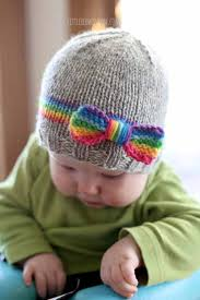 Free Knitting Patterns For Baby Hats Enchanting Baby Hat Free Knitting Patterns For Newborns Crafty Tutorials
