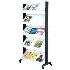 magazine racks for office. Magazine Rack For Office Rotating Holder Metal Racks E