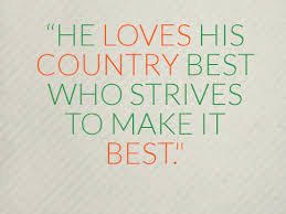 famous patriotism quotes about he loves his country com famous patriotism quotes about he loves his country