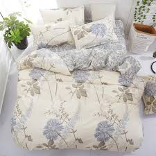 fl bedding set single double queen king size duvet cover flat sheet pillow cases nature quilt cover set ladybug bedding grey and white bedding sets