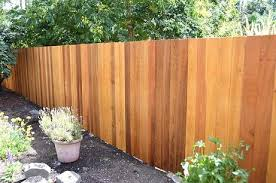 wood privacy fences. Flat Picket Fence Wood Privacy Fences