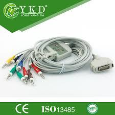 Fukuda Denshi EKG Cable ECG Cable 10 Leads Banana 4.0 plug ...