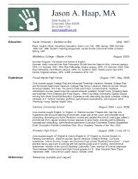 How Put A How To Put A Minor On A Resume On How To Type A Resume