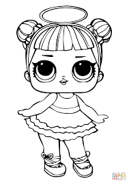 Lol Doll Sugar Coloring Page Free Printable Coloring Pages Coloring