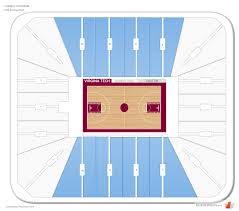 Cassell Coliseum Virginia Tech Seating Guide
