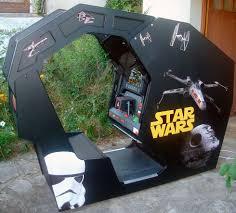 Star Wars Cabinet Scratch Built Replica Star Wars Cockpit Cab Updated 29 8 10