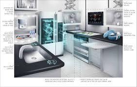Technology Kitchen Design Kitchen Design Futuristic Home Smart Home Technology