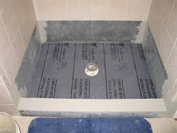 installing shower pan liner