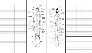 Pressure Point Charts Free Sample Pressure Point Chart Free Download