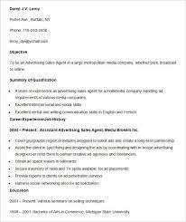 resume advertising sales media advertising sales agent resume template advertising assistant resume