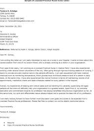 Ideas Collection Cover Letter Examples Lpn With Additional Gallery