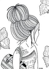 Coloring pages for teens and girls with our animals coloring, cute and sugar skull coloring pages. Coloring Pages For Teenage Girl In Different Styles Theseacroft