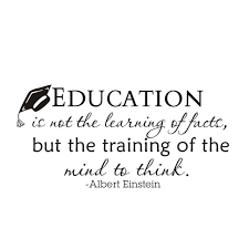 Study Quotes Gorgeous Education Is Not The Learning Of Facts Quotes Wall Stickers Doctoral