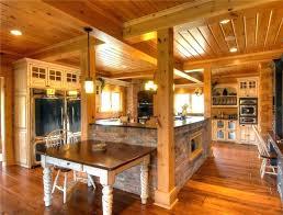 cabin kitchen design. Brilliant Cabin Log Cabin Kitchen Designs Image Of Kitchens In Homes Home Small Design For  Exempla  Rustic Cabinets  Intended Cabin Kitchen Design E