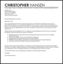 Cold Cover Letters Cold Cover Letter Sample Template Example in Generic Resume Cover Letter