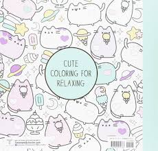 Small Picture Amazoncom Pusheen Coloring Book 9781501164767 Claire Belton