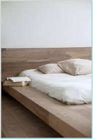 Minimal Wood Bed Frame