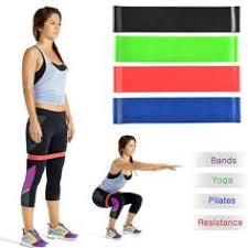 <b>5</b> Kleur Body Building <b>Yoga Stretch Bands</b> Riem Fitness Rubber ...
