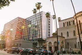 Modernist Building in Los Angeles' Koreatown is Redesigned as The Line Hotel  - Break Room 86