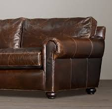 architecture restoration hardware leather sofa regarding original lancaster decorations 19 lazy boy small recliners pier one