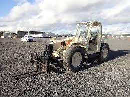 Ingersol Rand Forklift 1995 Ingersoll Rand Vr 50 5000 Lb 4x4x4 Telescopic Forklift