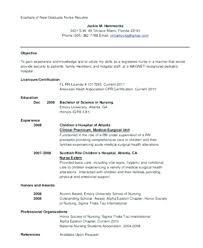 Objective For Nursing Student Resume Nursing Resumes Career