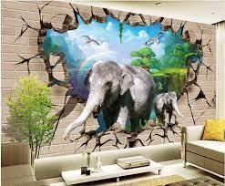 3d wallpaper custom photo Elephant ...