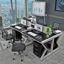 deck screen desk office furniture. Deck Screen Desk Office Furniture. Staff 4 Person And Chair  Combination Furniture Simple