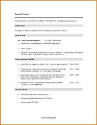 Job Skills Resume Examples Skills On Resume Example With Good Resume