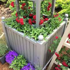 wooden garden planters style a large planter made from painted uk wooden garden planters