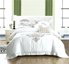 king size duvet white king size duvet cover color bedding set queen hotel bed cotton embroidered