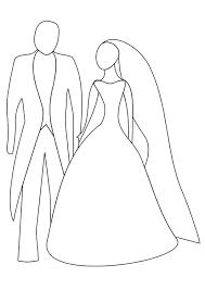 Kleurplaat Huwelijk Afb 20817 Images