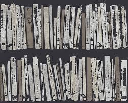 Bücherregal von Schöner Wohnen, Tapete 944320 #ascreation #tapeten ...