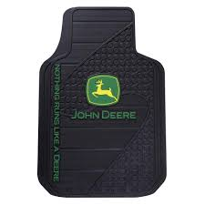 john deere heavy duty vinyl 31 in x 18 in floor mat