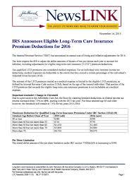 long term health insurance premiums deductible raipurnews