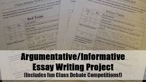 argumentativeinformative writing class debate organizers and  argumentativeinformative essay writing project and class debate competition