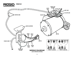 R4512 ridgid table saw parts wiring guide wiring guide at electric drill motor wiring diagram