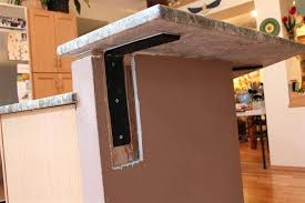 s countertop overhang support brackets