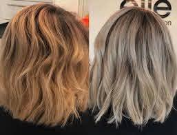 use toner for orange hair