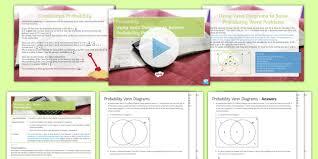 Maths Mastery Using Venn Diagrams To Solve Probability Word