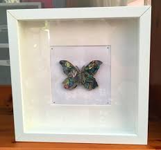 Box Picture Frame Box Frame Art Butterfly