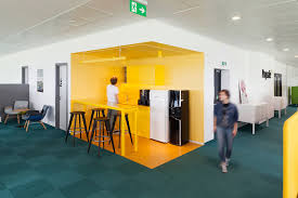 office orange. Colour Of Office Design | Injecting Bright Colours Can Have A Big Impact Orange