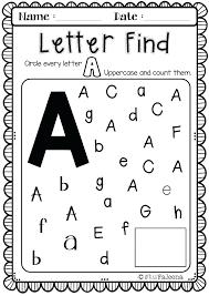 Free Printable Letter U Worksheets Alphabet Series For K Pre Tracing ...