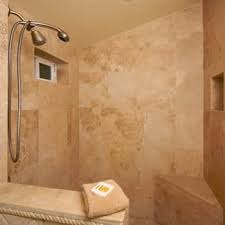 clean marble shower