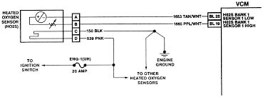 oxygen sensor wiring diagram wiring diagram and schematic design repair s electronic controls oxygen sensor haltech o2 sensor diagram