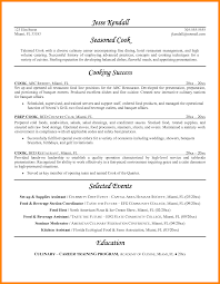 Full Size Of Resumecooks Resume Amazing Cooking Resume Chef Cover