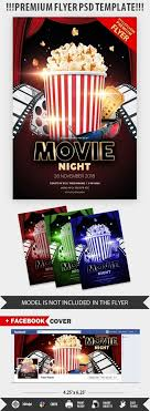Free Movie Night Flyer Templates 038 Free Movie Night Flyer Template Preview46 Unusual Ideas