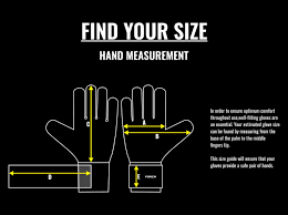 Goalkeeper Gloves Size Guide Sizing Chart Net World Sports