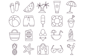 Summer Vector Free Icon Set Deszonenet