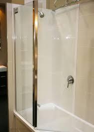 framed glass bath screen folding bath screen